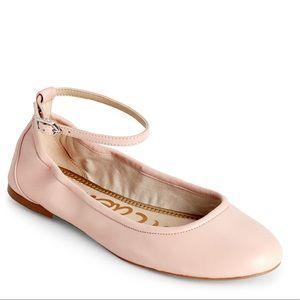 Sam Edelman Fynn Ankle Strap Ballet Flat